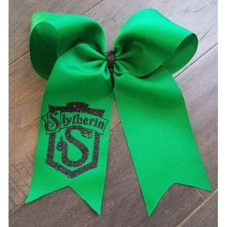 Slytherin Draco Malfoy Harry Potter Hogwarts Gryffindor Hair Bow Universal Studios Universal Studios Hogsmeade Hair Bow thumb