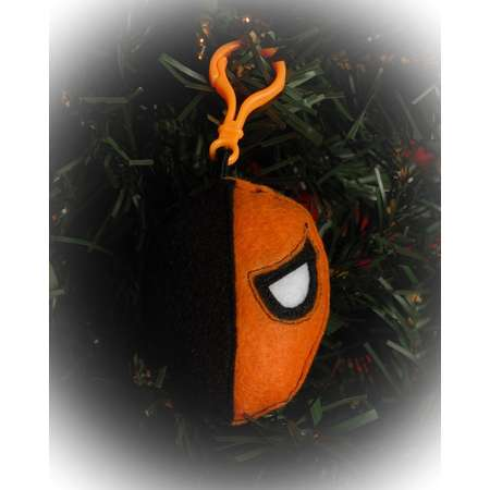 Deathstroke plush backpack clip DC Teen Titans/christmas ornament thumb