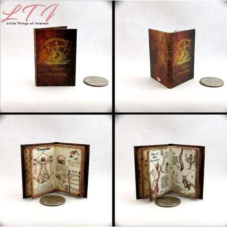 ARGENT BESTIARY 1:6 Scale Illustrated Book Teen Wolf Supernatural Werewolf Packs Alpha Banshee Symbols Barbie Fashion Doll Phicen Blythe thumb