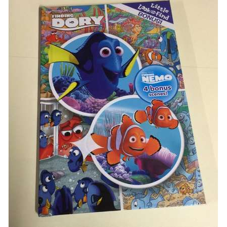 SALE!! Disney Pixar Finding Dory Repurposed Book Cover Journal/Notebook thumb