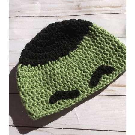 Hulk inspired Beanie, The Incredible Hulk, Hulk Smash, winter hat, christmas gift, costume, dress up thumb