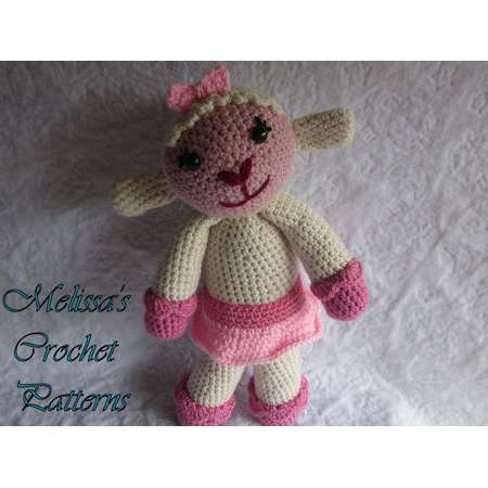 CROCHET PATTERN - Lambie from Doc McStuffins thumb