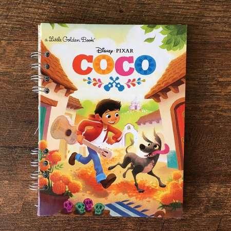 Coco Disney Autograph Book - Coco Miguel Autograph Book - Handmade Journal - Boys Disneyland Autograph Book - Disney Coco thumb