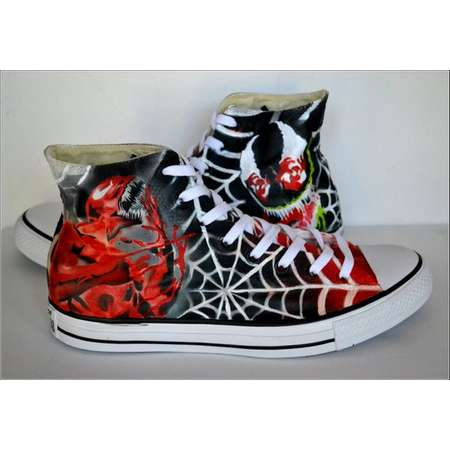Gifts for Him, Personalized Converse, Converse, Venom Shoes/ Carnage Shoes, Boyfriend Gift thumb