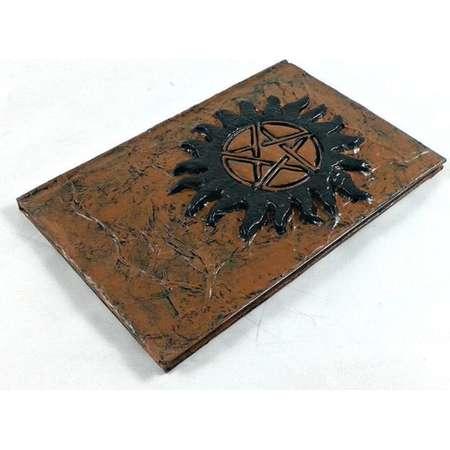 Anti Possession Tattoo Symbol Journal, Supernatural diary notebook thumb