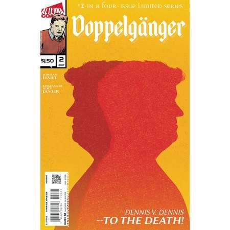 Single Issues: DOPPELGANGER #2 of 4 (Alterna Comics, 2018) supernatural suspense newsprint comic book thumb