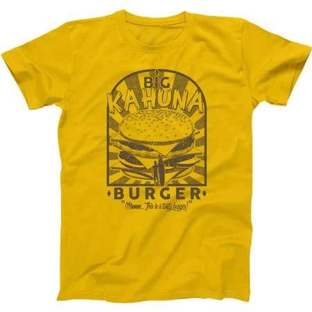 Big Kahuna Burger Pulp Fiction Funny Basic Men's T-Shirt DT0981 thumb
