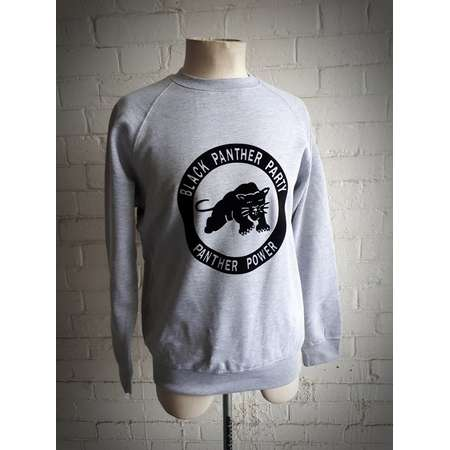 Black Panther Power Sweatshirt Rare Vintage Style Black Power Panthers 70s 60s BLM Civil Rights Malcolm X T-Shirt Sweater Jumper thumb