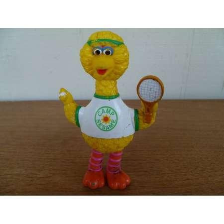 Vintage Big Bird Camp Sesame with Tennis Racket Sesame Street thumb