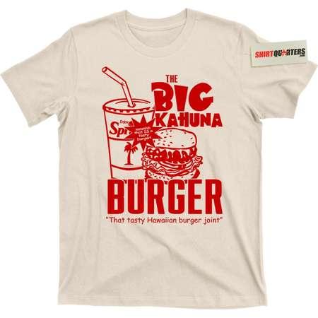 Pulp Fiction 2 directed by Quentin Tarantino Samuel L Jackson Jules Winnfield John Travolta Vincent Vega the Big Kahuna Burger mens t shirt thumb