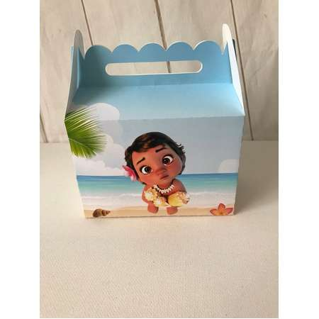 Baby Moana favor bags, Baby Moana party, Baby Moana decor, Baby Moana Party Favor Gift Bag 12ct thumb