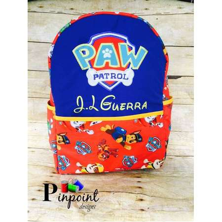 Paw patrol backpack thumb