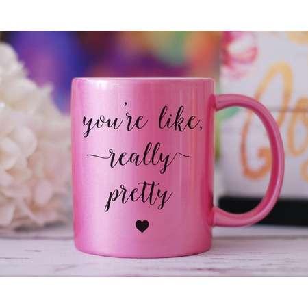 You're Like Really Pretty Mug, Mean Girls Mug, Graduation Gift, Plastics Mug, You Go Glen CoCo, Best Friend Gift, Birthday Gift, Tea Mug thumb
