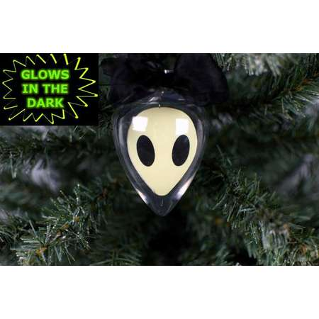 Alien Ornament, Glow In The Dark Ornament, Floating Ornament, Alien Decor, Glow In The Dark, X Files, I Want To Believe, Spaceship thumb