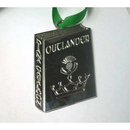 Outlander Series Book Ornament - Comes with Velvet Pouch and Ribbon - Awesome Gift! thumb