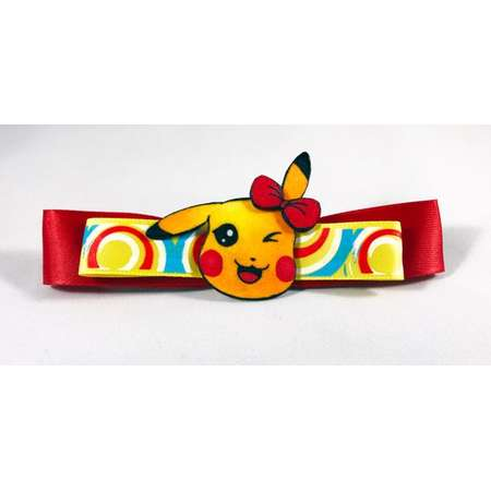Pikachu ~ Pokemon Hair Bow thumb