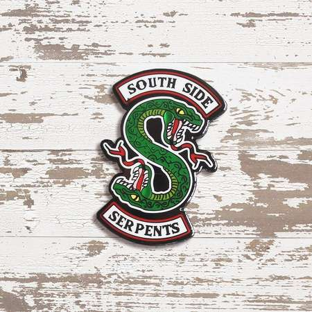 South Side Serpents Enamel Pin, Riverdale Badge, Jughead Jones, Bughead Shipper, Southside Serpents Jacket, Archie, Betty Cooper, Riverdale thumb