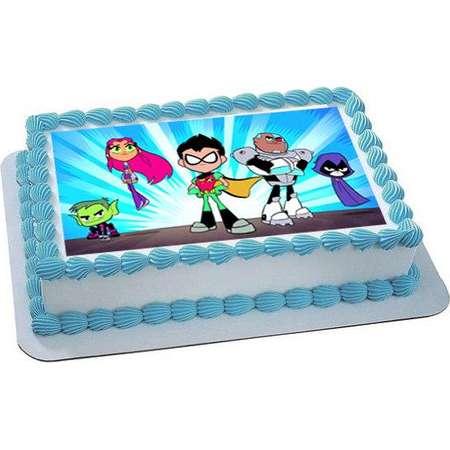TEEN TITANS GO edible cake topper, teen titans go cupcake toppers, teen titans birthday, teen titans go cake, teen titans party, teen titans thumb