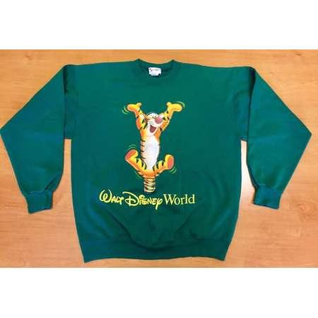 8f9b03d93 Vintage 1990s Tigger Winnie the Pooh Crewneck Sweatshirt t-shirt mickey  mouse minnie donald duck goofy walt disney world disneyland aladdin