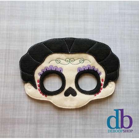 Mama Imelda - Coco Inspired Mask - Kid & Adult - Creative Play - Halloween Costume thumb