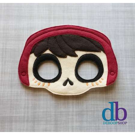 Miguel - Coco Inspired Mask - Kid & Adult - Creative Play - Halloween Costume thumb