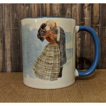 Outlander Mug, Jamie and Claire Mug, Coffee Mug, Mo Ghraidh Mug thumb