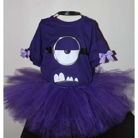 a5783f068c74 Despicable Me Minions inspired tutu dress costume baby girls thumb