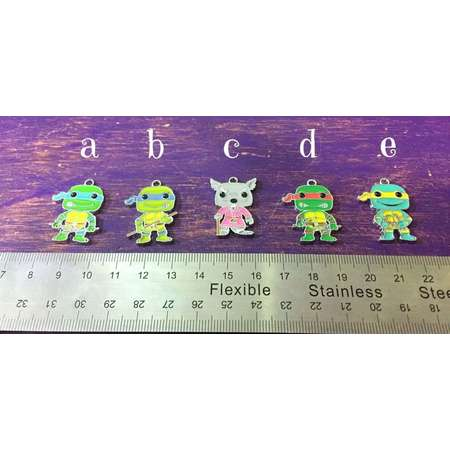 TMNT Charm, Pendant, Zipper Pull: Splinter ~ Teenage Mutant Ninja Turtles Zipper Pulls! ~ Purse Jewelry, Backpack Accessory, TMNT Charm thumb