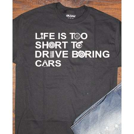 Life is too short to drive boring cars thumb