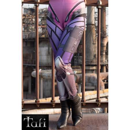 0e99b7fe0c1 TAFI Widowmaker Overwatch Leggings - Blizzard Sci-Fi Video Game-inspired  Body Armor Costume