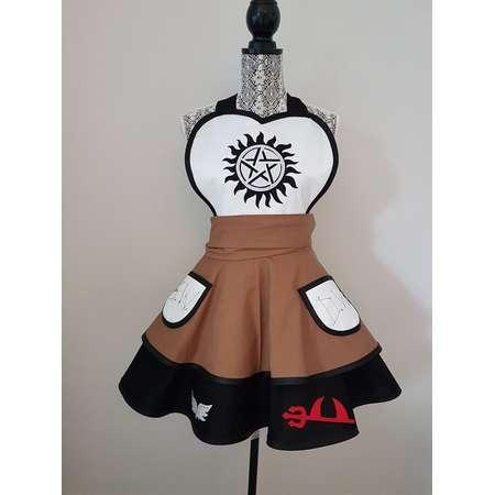 Supernatural - Dean - Sam - cosplay apron - apron - costume apron thumb