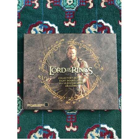Lord of the Rings Aragorn Collector's Box Set Postercards Poster Postcard New Line Cinema thumb
