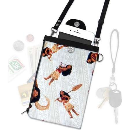 Disney Moana Crossbody Bag, Phone Wallet, ID Wallet, Hip Bag, Vacation ID Wallet, iPhone Samsung thumb