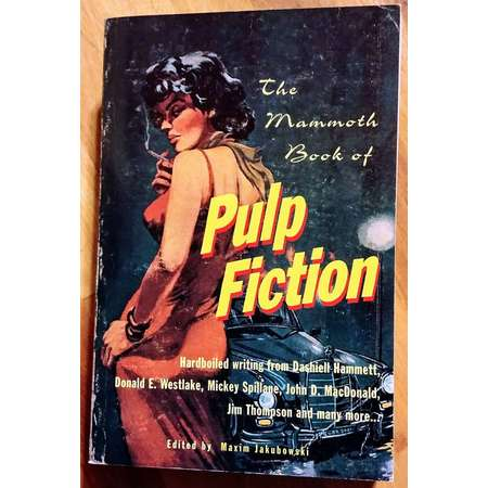 The Mammoth BOOK of PULP FICTION ~ Paperback Book ~ 1st Edition! ~ Mint Condition! ~ Jakubowski (Carroll & Graf, 1996) thumb