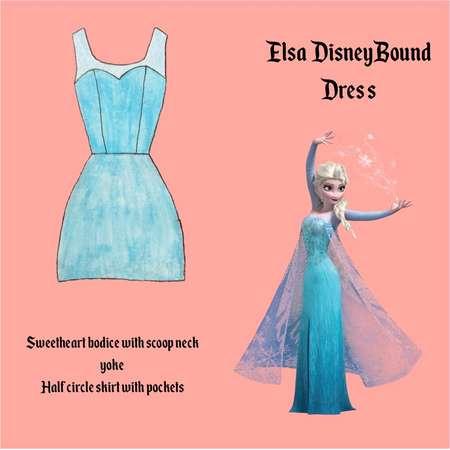 Disney Bounding Dresses. Elsa. Kuzco. Esmeralda. Genie. Jane. Jasmin. Kronk. Lumiere. Mary Poppins thumb
