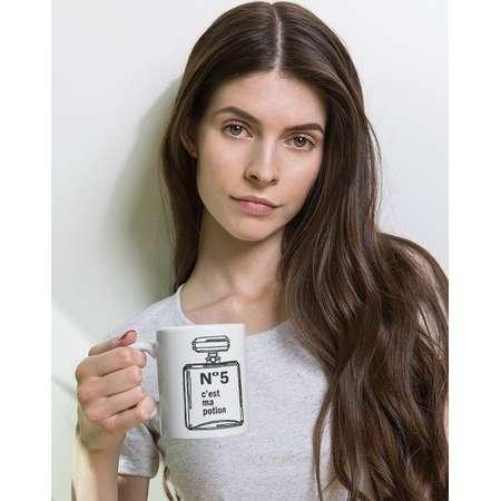 Chanel No. 5 Inspired Mug 11Oz. Coco Chanel Inspired mug, French mug, gifts for her thumb