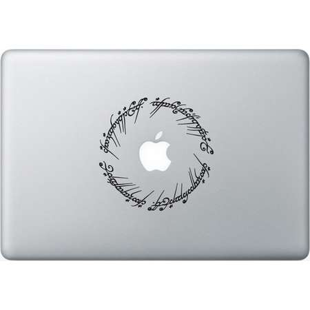 Sticker Macbook - The Lord of the Rings - Decal for MacBook Air Pro Retina - 11 12 13 15 or 17 inches - Skin for macbook easy to stick thumb