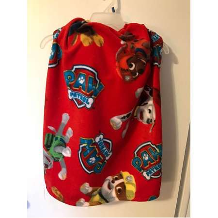 Weighted cape Paw Patrol, 2.5 lbs shoulder wrap - washable - fun fleece thumb