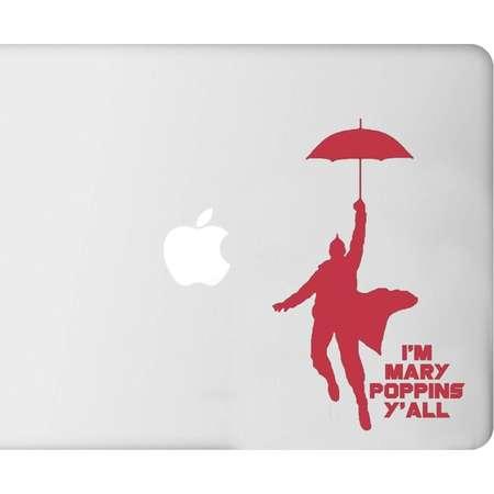 I'm Mary Poppins Y'all Guardians of the Galaxy Marvel- Decal - Car - Mac - Mug Free Shipping thumb
