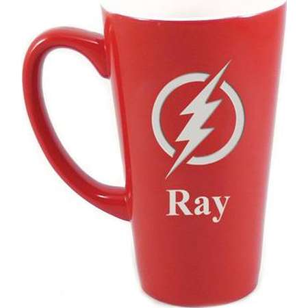 Personalized The Flash Mug, Flash Coffee Mug, Superhero Mug, Custom Coffee Mug, Personalized Mug, Coffee Mug, Large Red Mug, Justice League thumb
