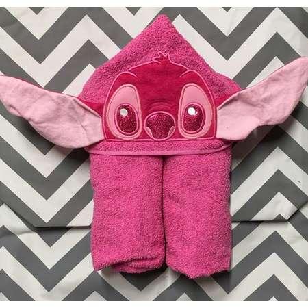 Hawaiian Pink Alien Hooded Towel thumb