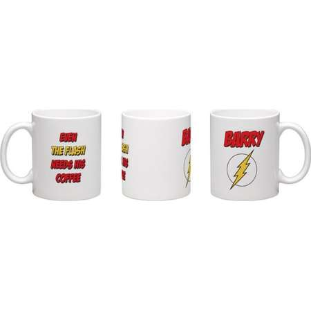 The Flash Inspired Coffee Mug - Personalize with Name. Great Gift for any Justice League Fan! Perfect Christmas Gift or Stocking Stuffer! thumb