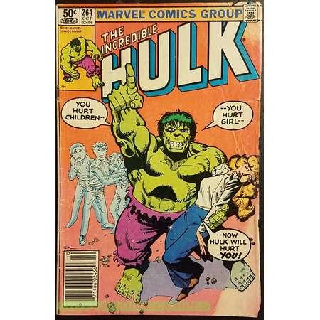 The Incredible Hulk #264 (1981) Comic Book thumb