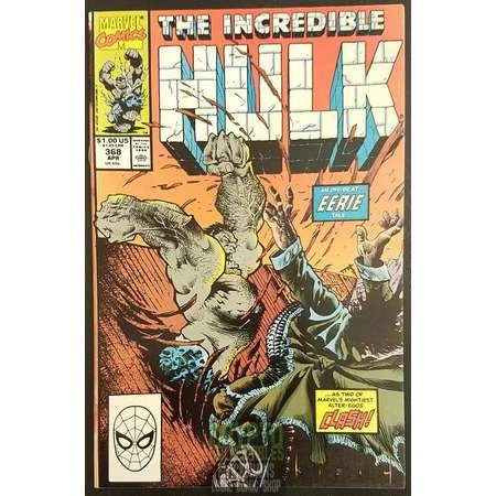 The Incredible Hulk #368 (1990) Comic Book thumb