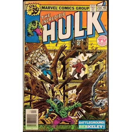 The Incredible Hulk #234 (1979) Comic Book thumb