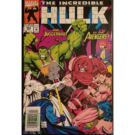The Incredible Hulk #404 (1993) Comic Book thumb