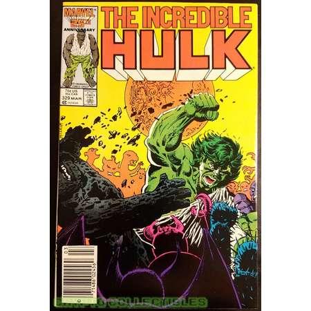 The Incredible Hulk #329 (1987) Comic Book thumb