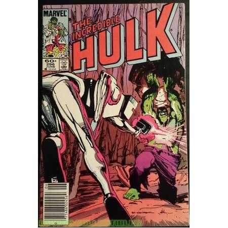 The Incredible Hulk #296 (1984) Comic Book thumb