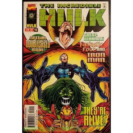 The Incredible Hulk #450 (1997) Comic Book thumb