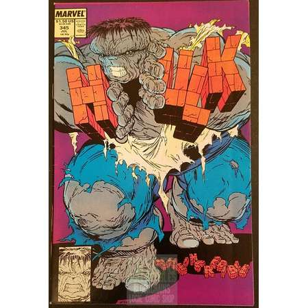 The Incredible Hulk #345 (1988) Comic Book thumb